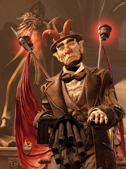 Bioshock Infinite Cosplay Patriot Image - Vox Abe Motori...
