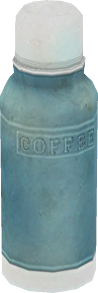 Coffee Model Render BioShock