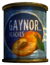 Gaynor Peaches tin