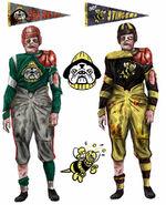 Pigskin uniforms