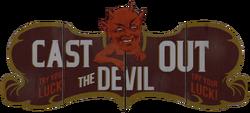 Cast out the Devil sign