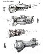 BioShock 2 Submarine Concepts 1