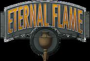 Eternal Flame Crematorium Sign