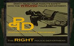 Ad poppa police