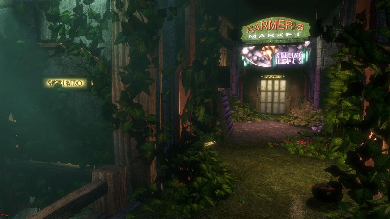 Arcadia bioshock wiki fandom powered by wikia for Bioshock jardin de las recolectoras