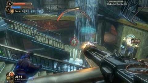 """Bioshock 2"", full walkthrough diaries, Mission 7 - Fontaine Futuristic, Part 3 7"