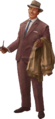 Cut Out Businessman Model Render No Stand.png