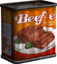 BeefE Potted Meat Model Render