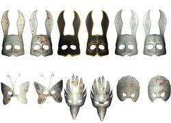 Masks-BioShock 1 Variety