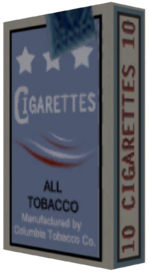 Cigarettes Render BSi