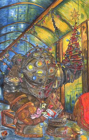 File:Bioshock Christmas by TeamLando.jpg