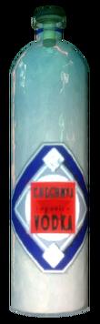 Chechnya Vodka bottle