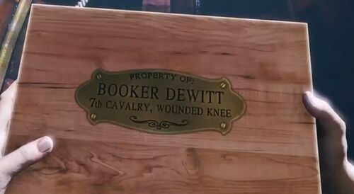 Booker Wounded Knee Box