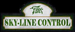 Skyline Control sign