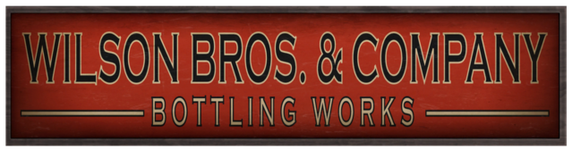 File:Wilson Bros & Company Bottling Works sign.png