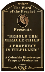 Kinetoscope Behold the Miracle Child