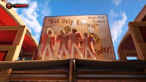 "Bioshock Infinite HD ""God Only Knows"" Performance by Columbia's Gayest Quartet (Music no f x)"