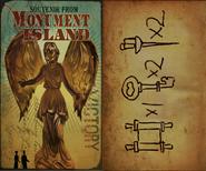 Monument Island Card