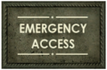 Emergency Access sign.png