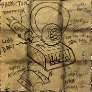Hack tool diagram
