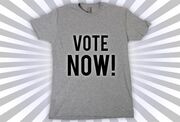 T-shirt-votenow