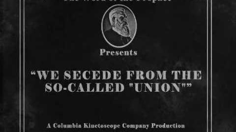 "BioShock Infinite We secede from the so-called ""Union"""