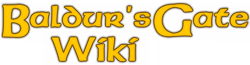 Baldur's Gate Wiki-wordmark
