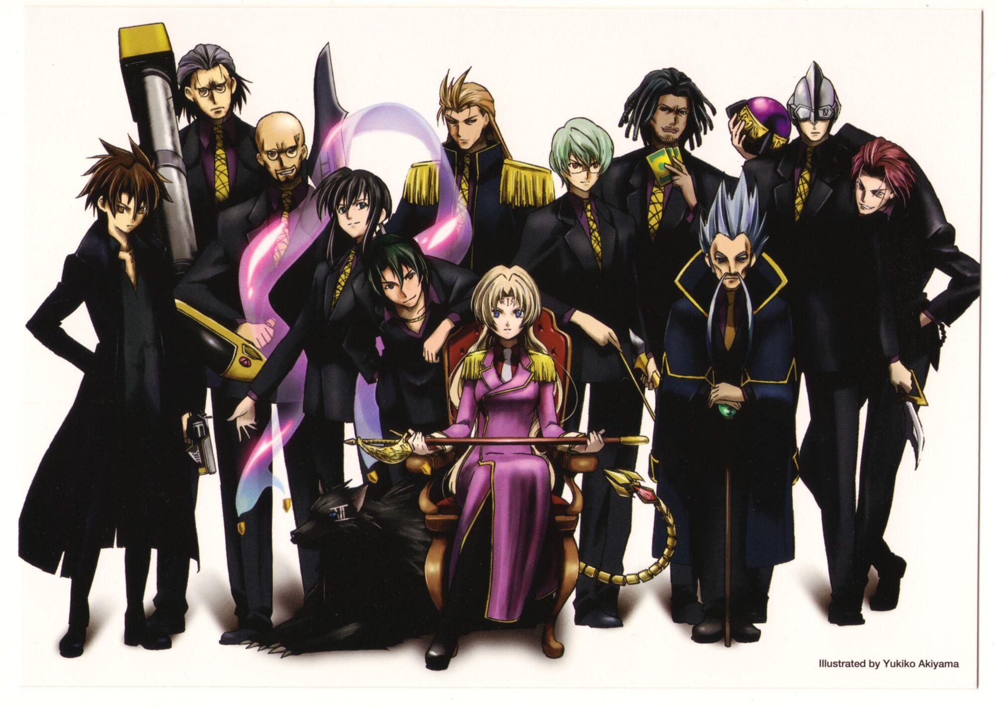 Category Chronos Black Cat Anime Wiki Fandom Powered