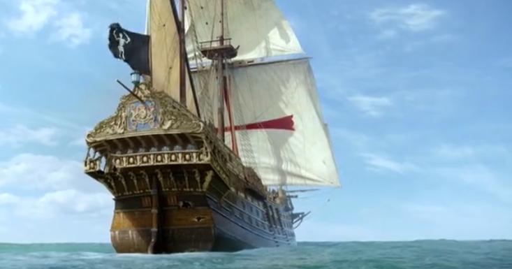 Image - Pirates take Man O war IX.png | Black Sails Wiki ...