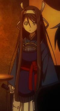 Asaka Mibu's appearance
