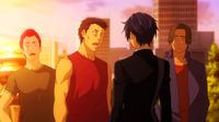 Rentaro confronts the gang