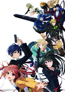 Black Bullet 2nd Key Visual
