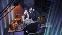 Rentaro talks to Sumire