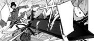 Shougen using his sword