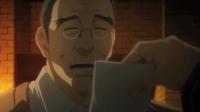 Matsuzaki is shown an image of Enju