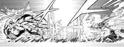 Enju defeats the Gastrea