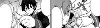 Rentaro treats Kayo's injuries