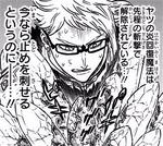 Klaus tries to break crystal with steel