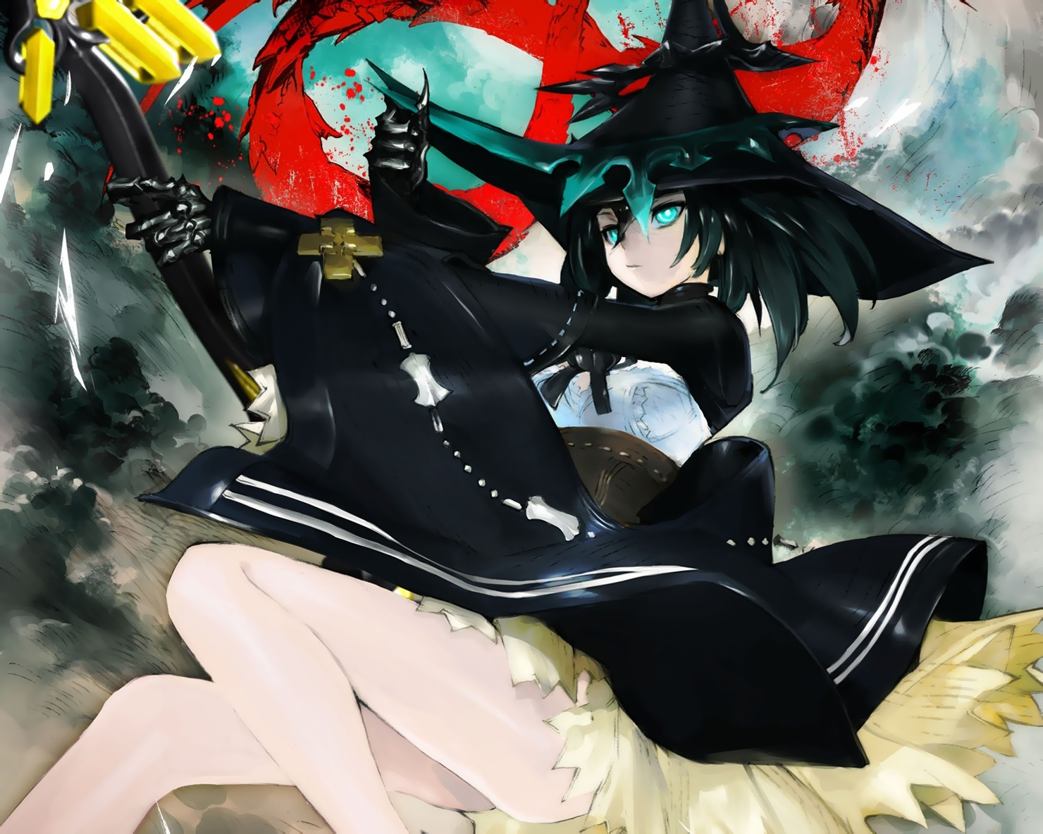 Elder Caster | Black Rock Shooter Wiki | FANDOM powered by Wikia