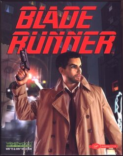 BladeRunner PC Game (Front Cover)