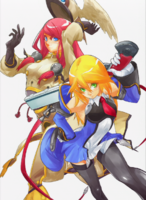 BlazBlue Chronophantasma Story Maniacs Material Collection II (Illustration, 8)
