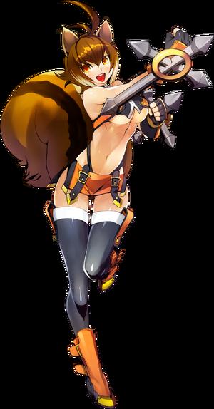 Makoto Nanaya (Centralfiction, Character Select Artwork)
