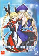 BlazBlue Official Comics vol. 1 (Front Cover)