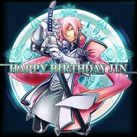 Jin Kisaragi (Birthday Illustration, 2012, 04)
