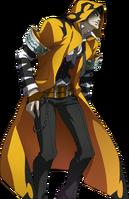 Yūki Terumi (Story Mode Artwork, Defeated, 2)