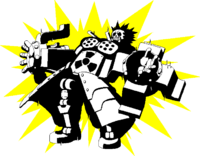 Iron Tager (Sprite, electrocuted)