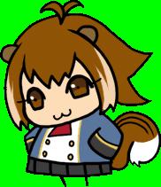 File:Makoto Nanaya (Chibi, School Uniform).png