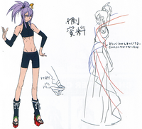 Amane Nishiki (Concept Artwork, 1)