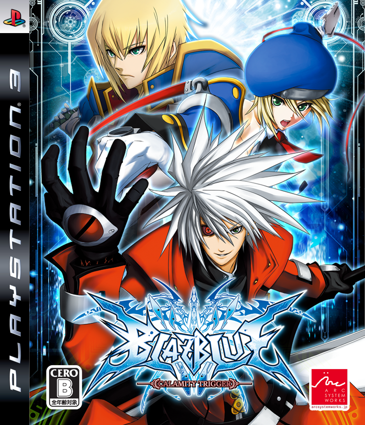 """blazblue calamity trigger The first hi-res 2d fighter from the creators of the guilty gear series blazblue is a traditional 2d fighter where two characters participate in a duel the story of the game involves dissent and destruction among a powerful council, known unofficially as """"the library,"""" which controls a great power that once saved humanity, but which now."""