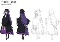 Mei Amanohokosaka (Concept Artwork, 14)
